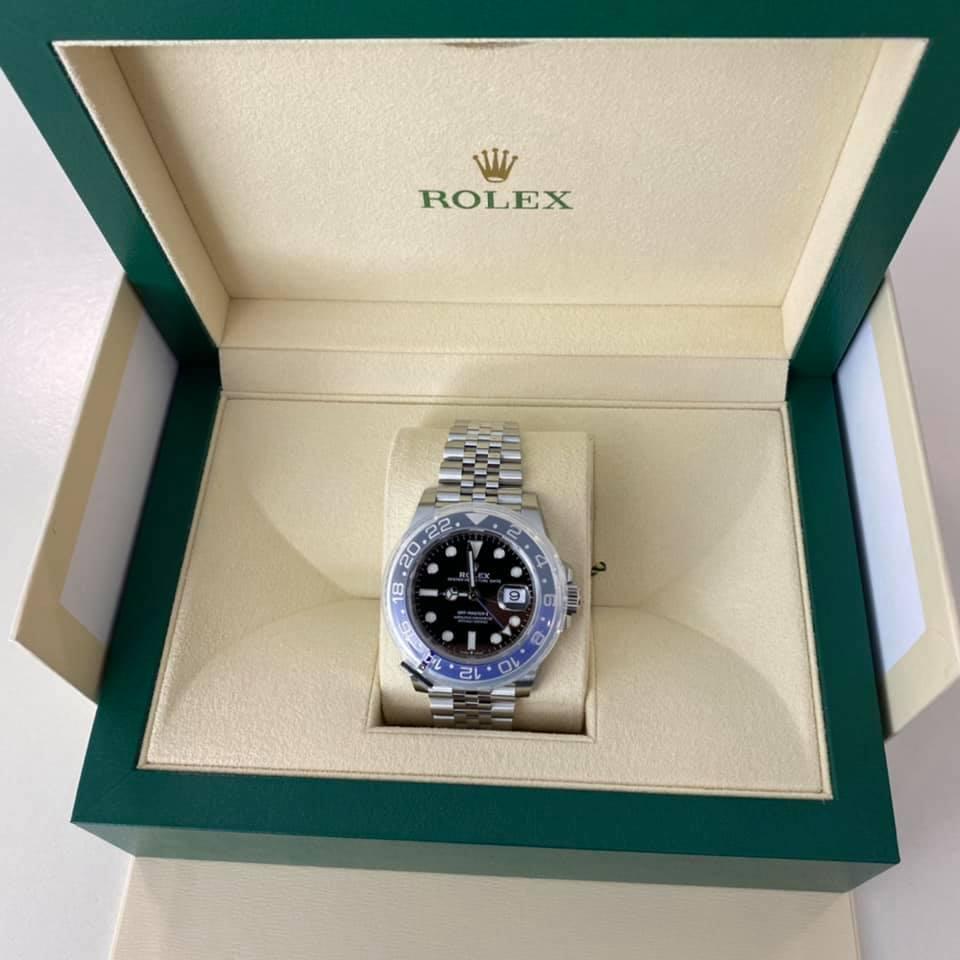 ROLEX GMT-MasterII 126710BLNR ( BATMAN )