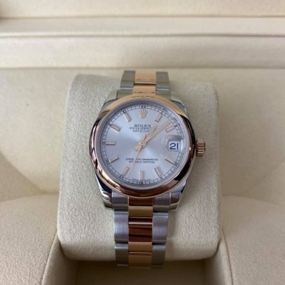 ROLEX Date Just Lady Steel And Rose Gold 31 mm 178241
