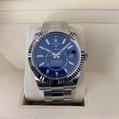ROLEX Sky-Dweller 326934 Oyster ( Blue Dial )