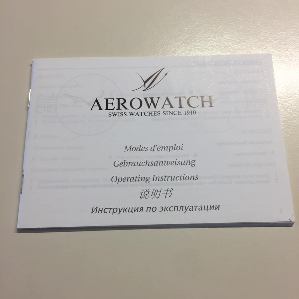 AEROWATCH RENESSAİNCE BİG GMT AUTOMATİC 71930 RO04