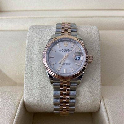 ROLEX Date Just Lady Steel & Rose Gold 28 mm 279171